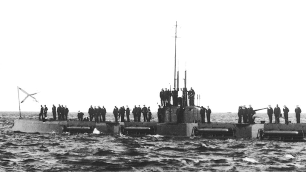 Ryska ubåten Vepr. Foto: Central Navy Museum, St. Petersburg.