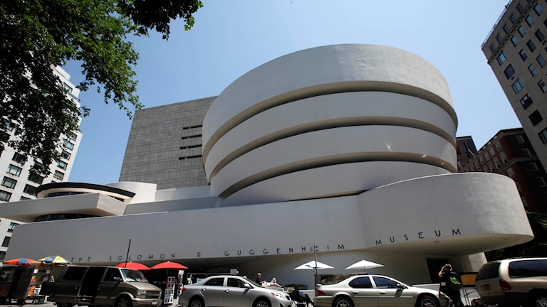 Konstmuséet Guggenheim i New York.