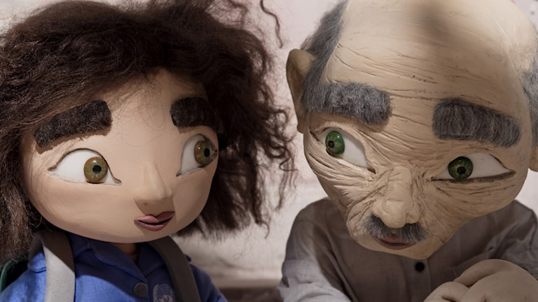 Wardi och gamle Sidi ur filmen Tornet