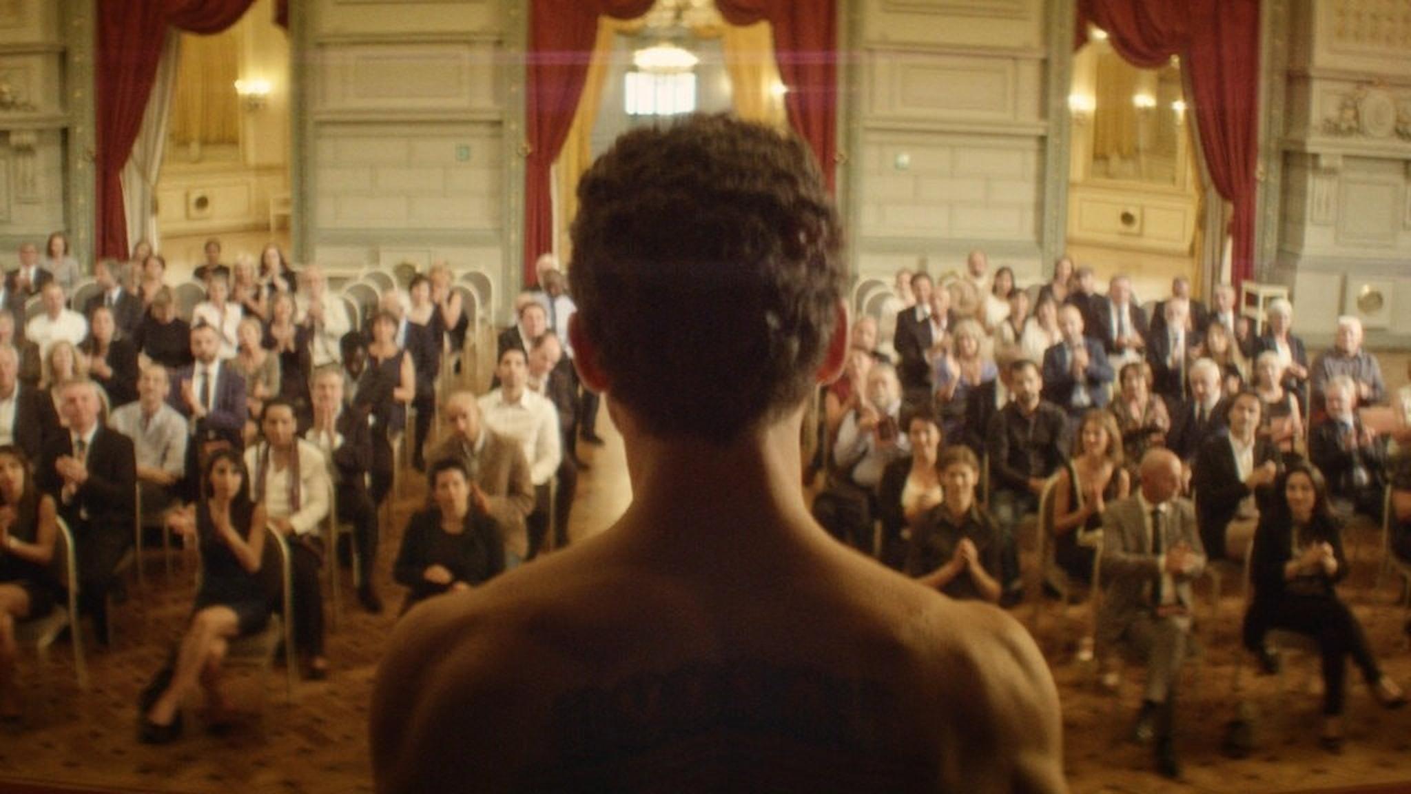 Ur filmen The man who sold his skin
