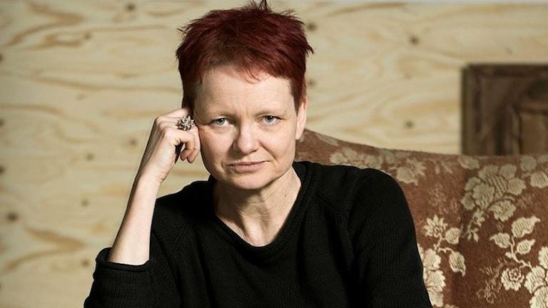 Författaren och dramatikern Malin Lindroth