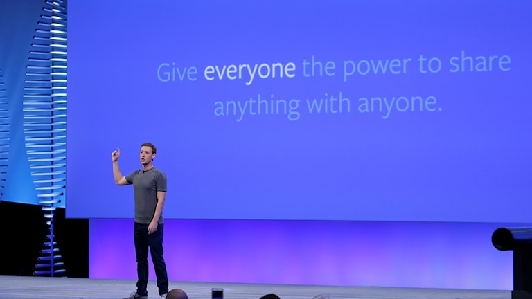 Facebooks grundare Mark Zuckerberg.