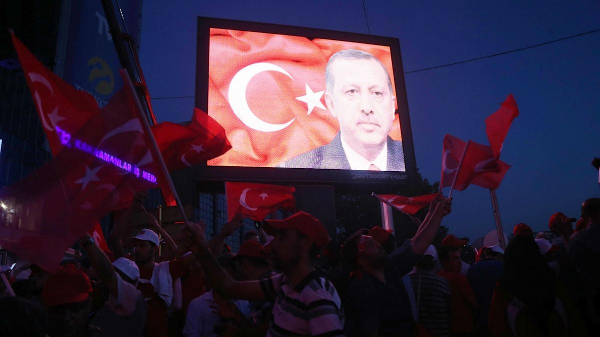 Turkiets president Recep Tayyip Erdoğan