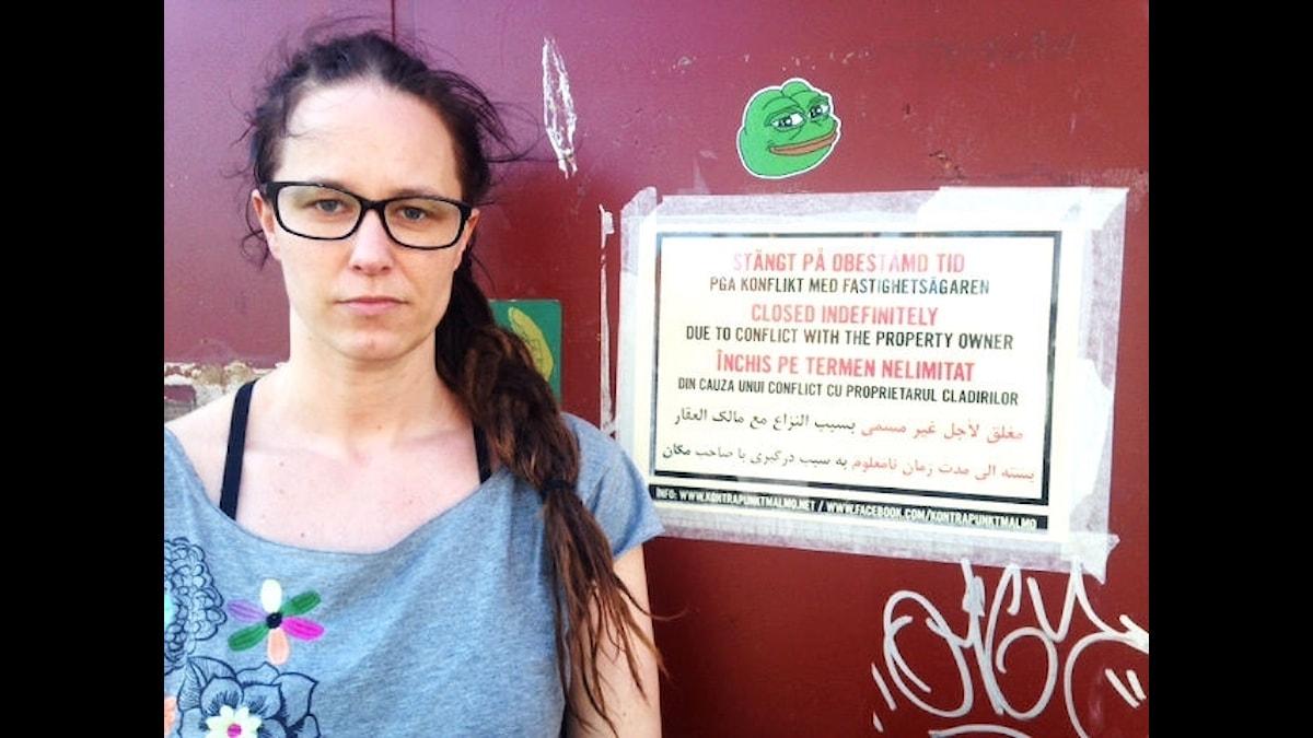 Johanna Nilsson är en av de som jobbar aktivt med Kontrapunkt.