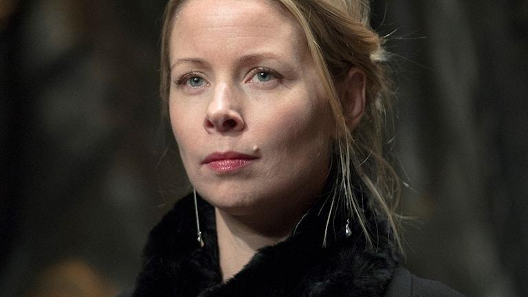 Skådespelaren Julia Dufvenius.
