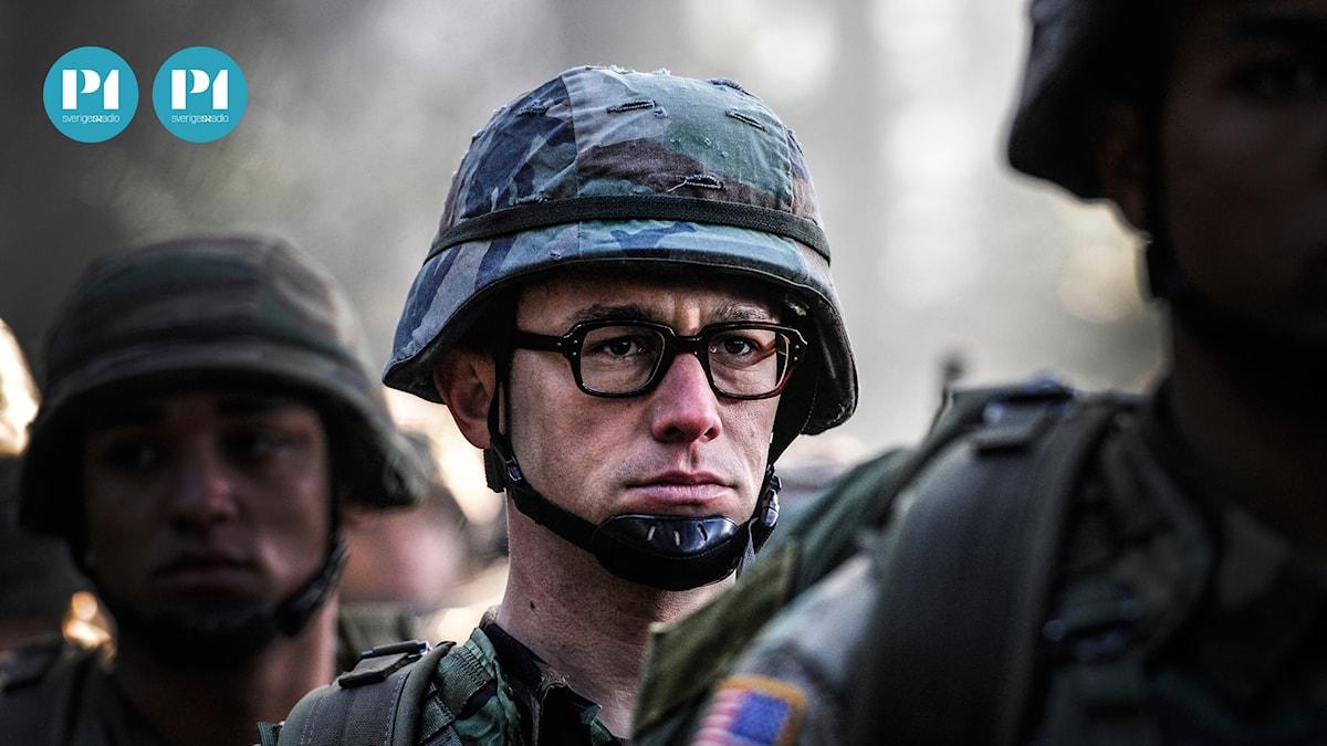 Joseph Gordon-Levitt spelar rollen som Edward Snowden.