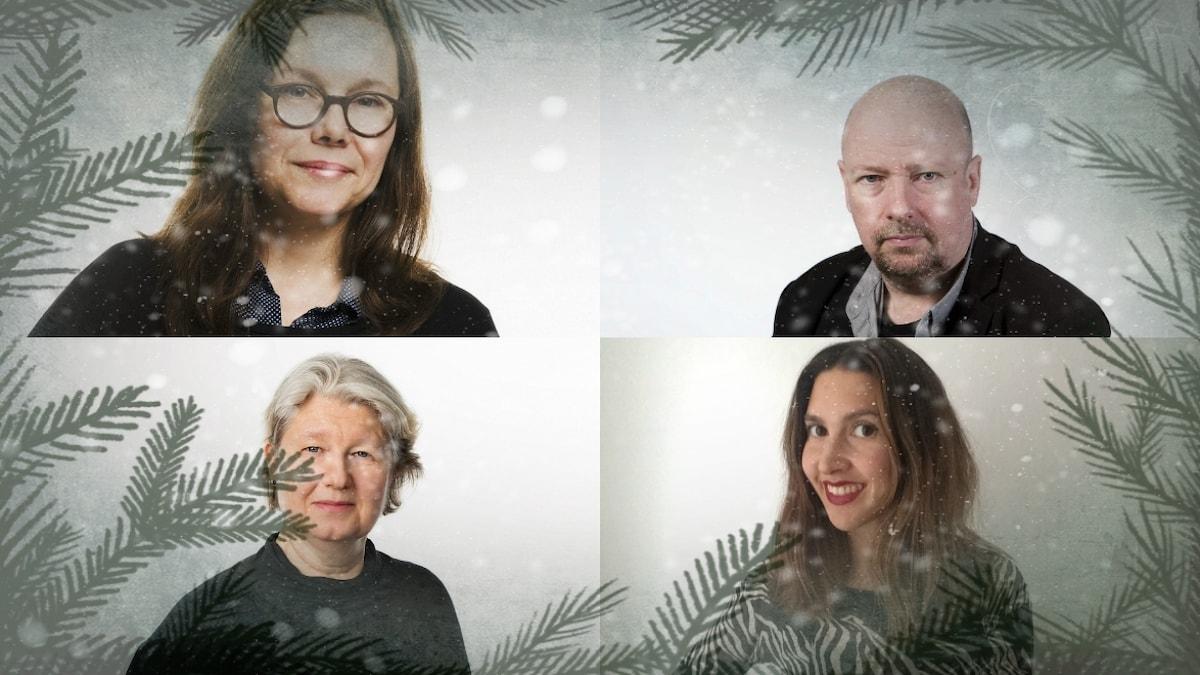 Anneli Dufva, Maria Edström, Magnus Lindman, Tali da Silva