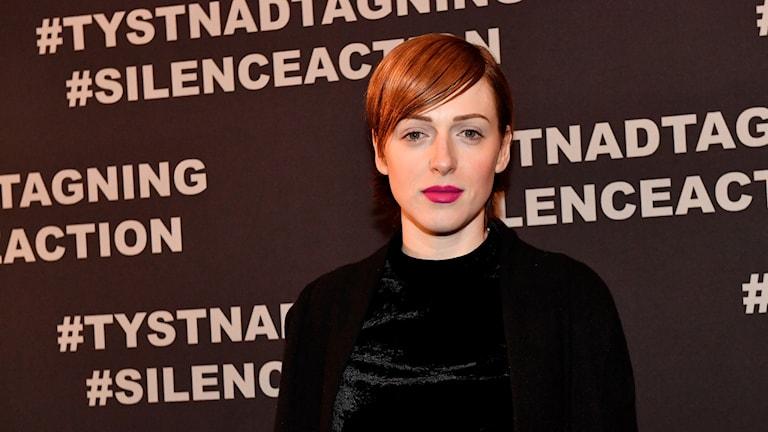 Skådespelaren och medieprofilen Cissi Wallin