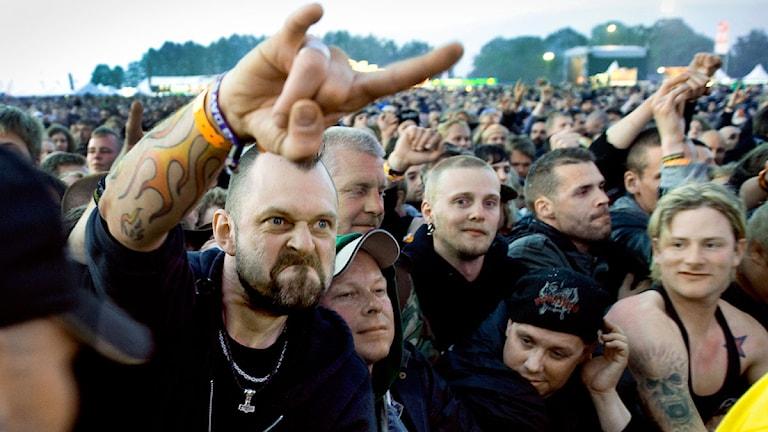 Sweden rock har kommit överrens med Stim. Foto: Claudio Bresciani / SCANPIX