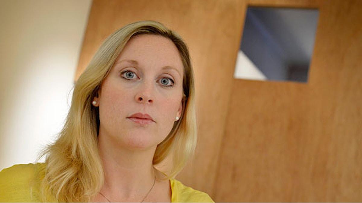 Lisa Bjurwald. Foto: Jonas Ekströmer/Scanpix.