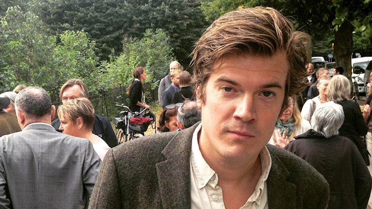 Gunnar Ardelius ordförande Sveriges författarförbund.