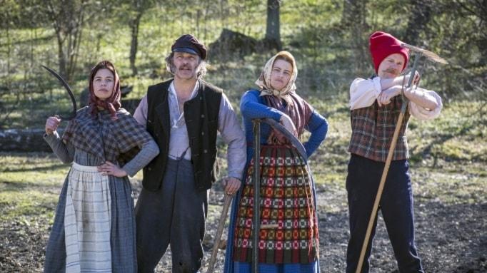 """En av höstens SVT-satsningar är """"Erik och Lotta emigrerar"""" med Erik Haag och Lotta Lundgren."""