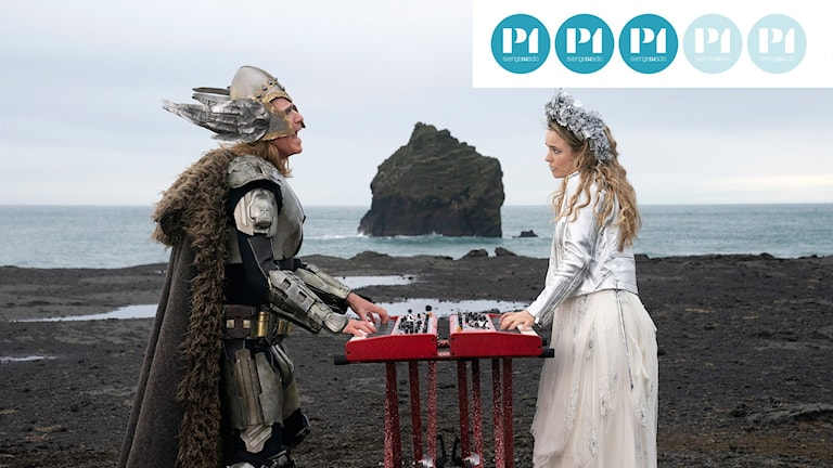 Will Ferrell och Rachel McAdams i filmen Eurovision Song Contest: The Story of Fire Saga.
