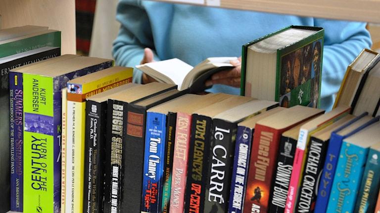 Böcker. Foto: Wikipedia