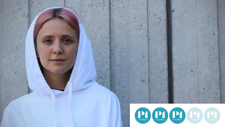 Hanna Järver med betyg.