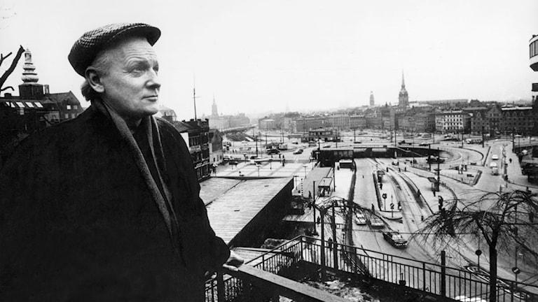 Per Anders Fogelström 1966. Foto:  Ulf Stråhle/SVT Bild