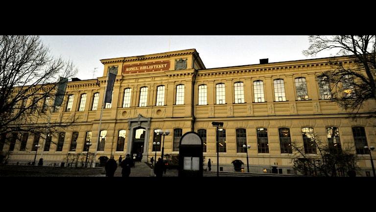 Kungliga Biblioteket. Foto: Hasse Holmberg/Scanpix