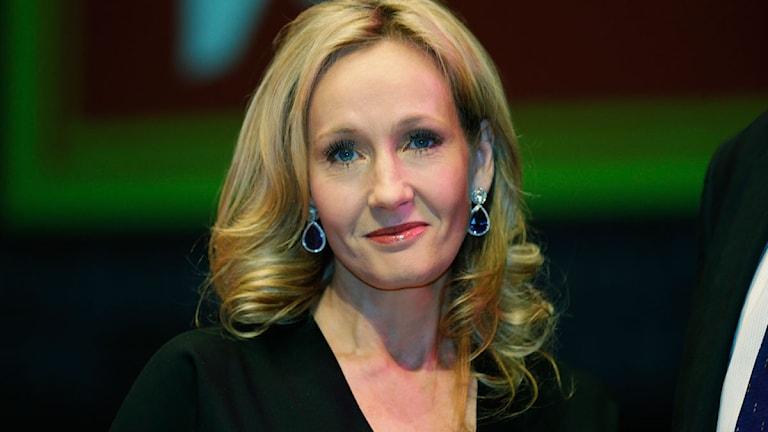 JK Rowling. Foto: Lefteris Pitarakis/AP/Scanpix