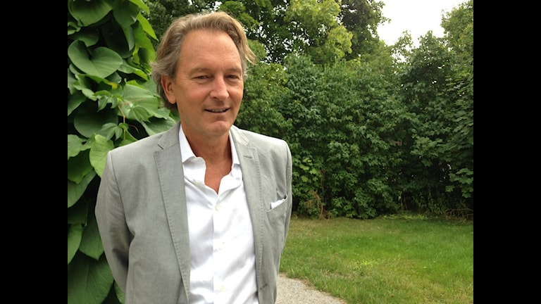 Tomas Ledin Foto: Berit Nygren/SR