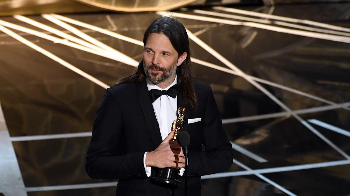 Linus Sandgren vinner en Oscar.