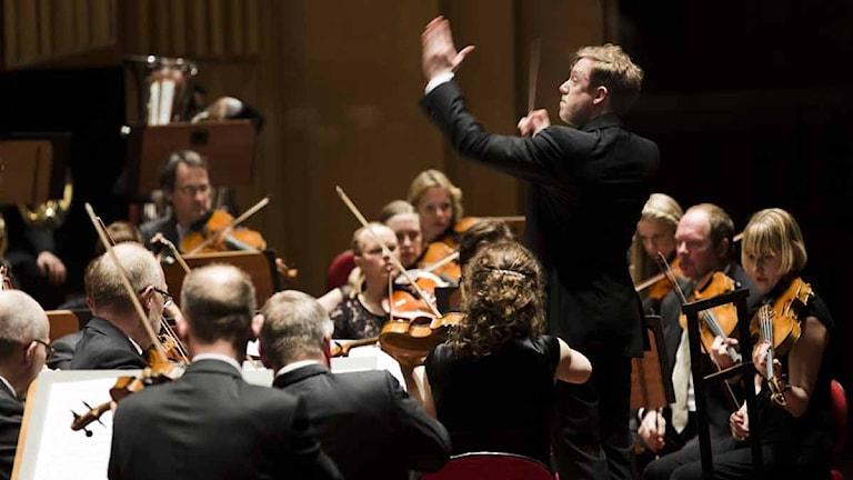 Sveriges radios symfoniorkester. Foto: Mattias Ahlm/Sveriges Radio