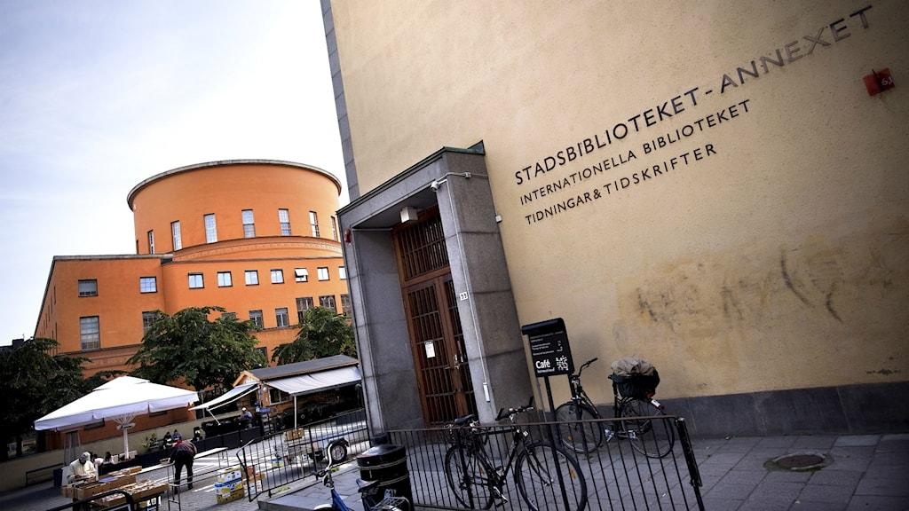 Internationella biblioteket i Stockholm.