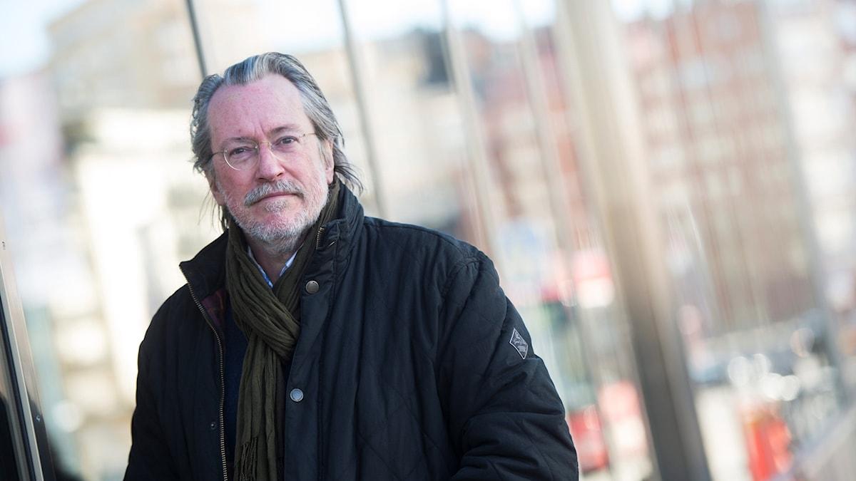 Niklas Rådström, författare och konstnärlig professor i berättande.