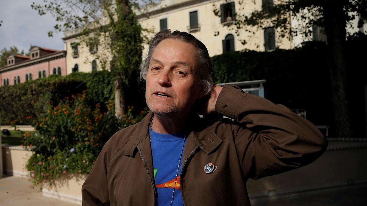 Regissören Jonathan Demme fotograferad på filmfestivalen i Venedig 2012.