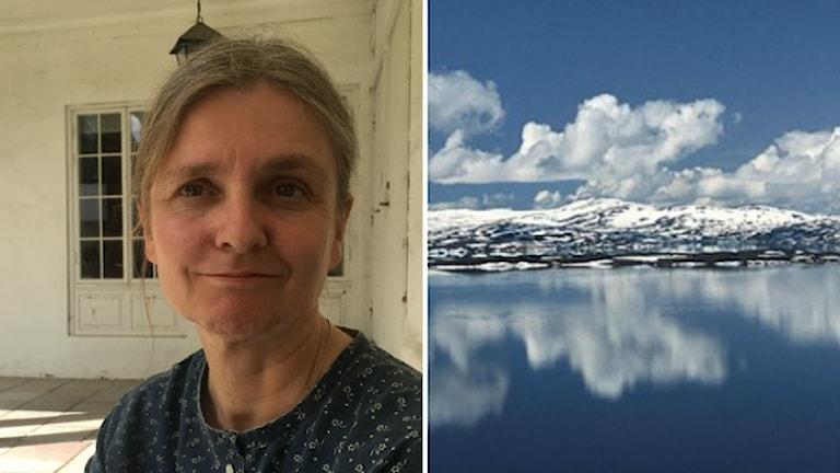 Gunilla Larsson varnar för att världsarvet Laponia kan påverkas av gruvbygget.