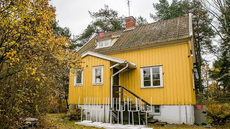 Gula Huset i Järfälla.