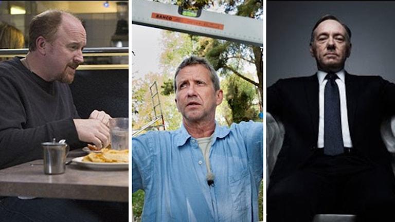 Program med Louis CK, Martin Timell och Kevin Spacey plockas bort.