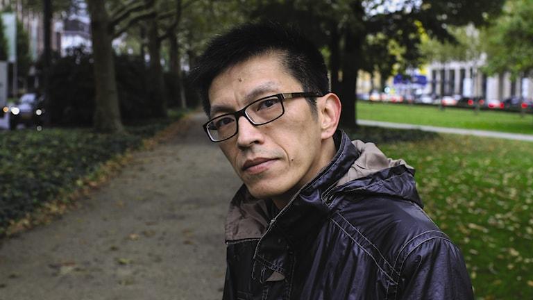Färgfot0 av den kinesiske författaren Xiao Bai
