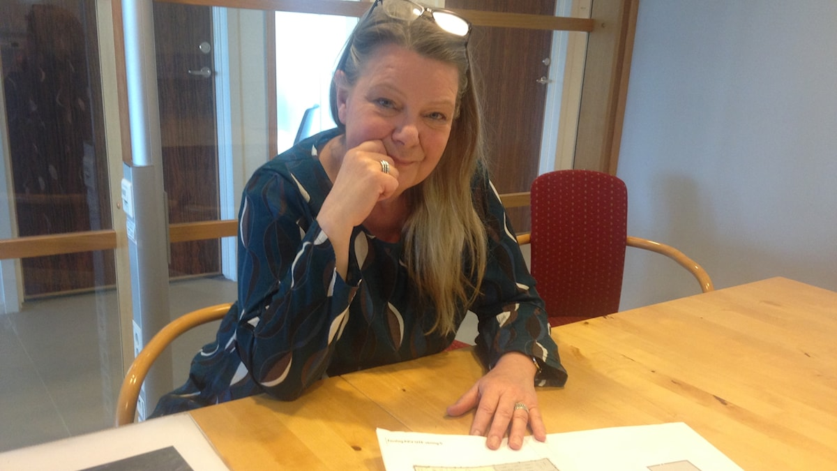 Anne-Sofie Ericsson på Site