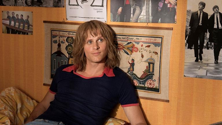 Adam Pålsson i filmen om Ted Gärdestad.