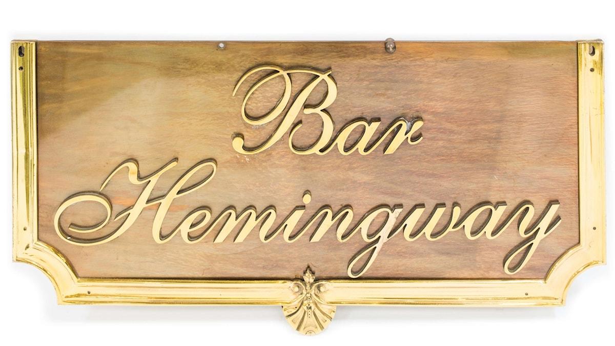Bar Hemingway på Ritz i Paris