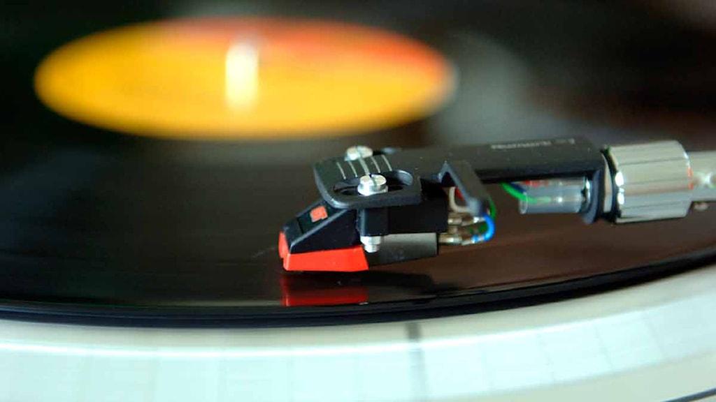 Vinylförsäljningen ökar i Storbritannien. Foto: Ingvar Karmhed/SvD/TT