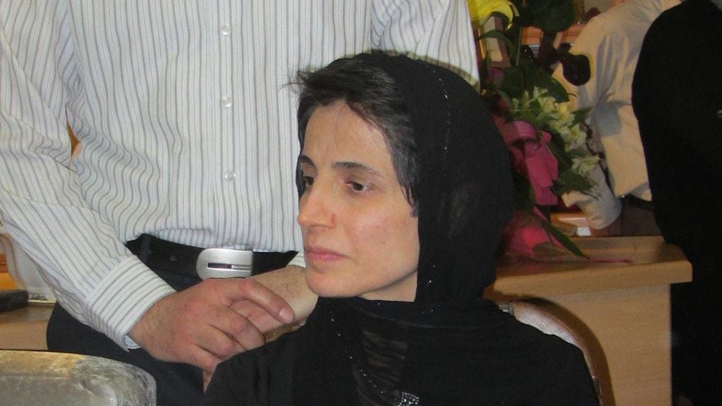 Nasrin Sotoudeh.
