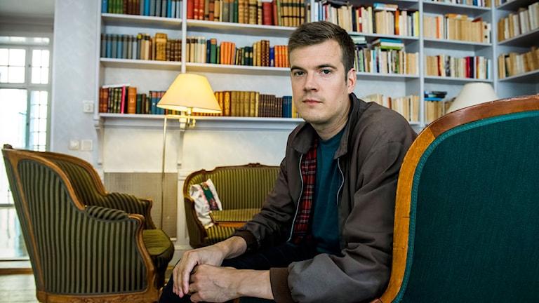 Gunnar Ardelius är Författarförbundets ordförande. Foto: Claudio Bresciani/TT