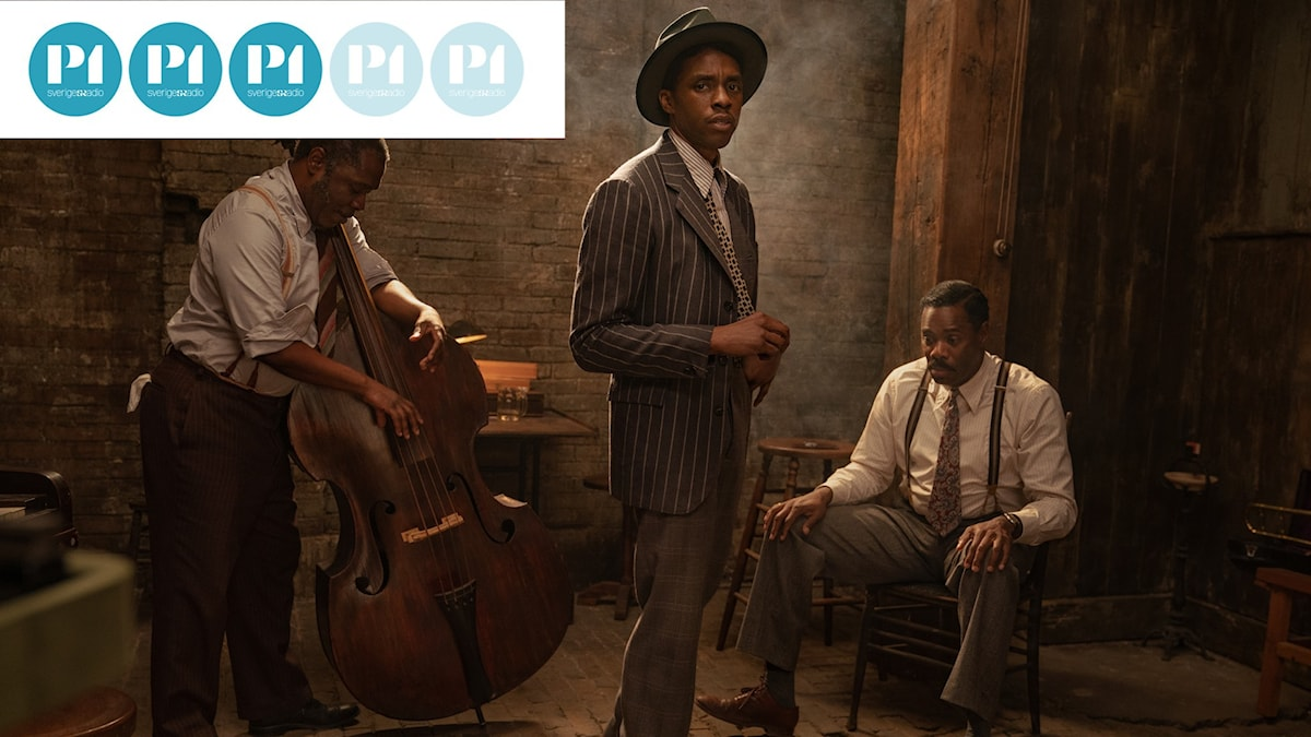 Chadwick Boseman spelar en av huvudrollerna i Netflixfilmen Ma Rainey's Black Bottom.