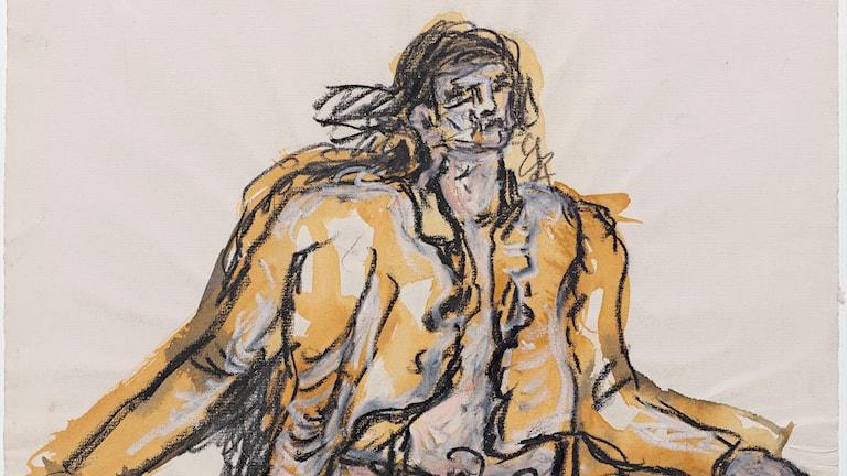 Georg Baselitz, Ohne Titel (ein neuer Typ), 1965