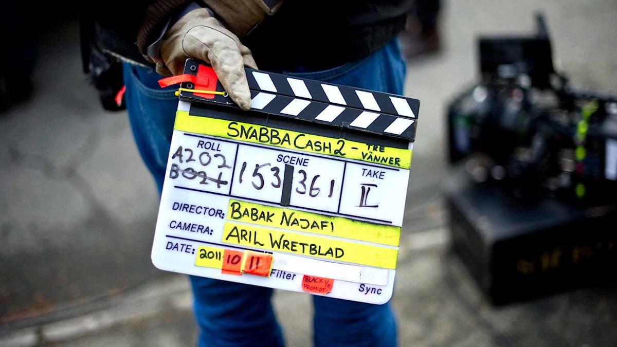 Filminspelning. Foto: Björn Larsson Rosvall/TT