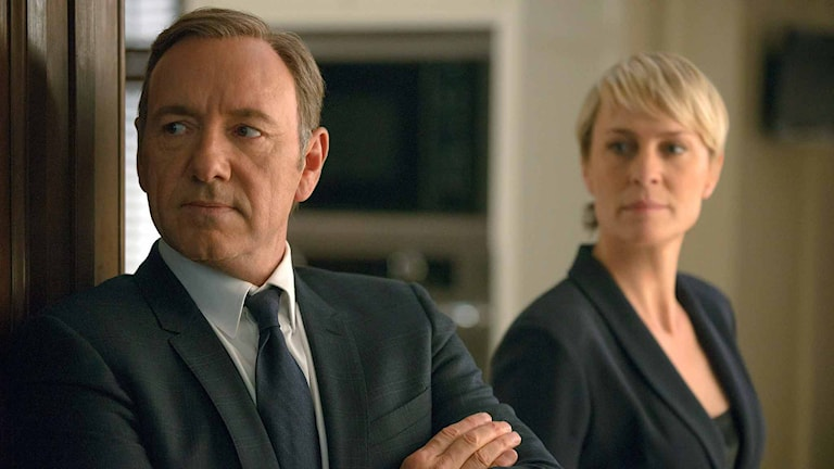 """Kevin Spacey och Robin Wright i """"House of Cards"""". Foto: Nathaniel E. Bell/AP/TT"""