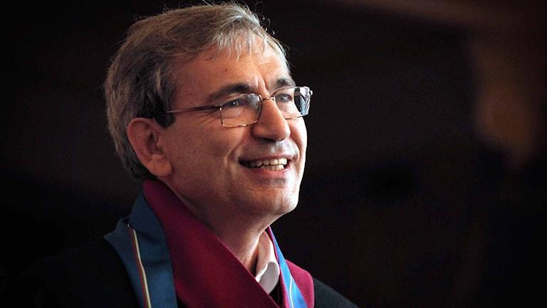 Orhan Pamuk. Foto. Valentina Petrova/AP/TT