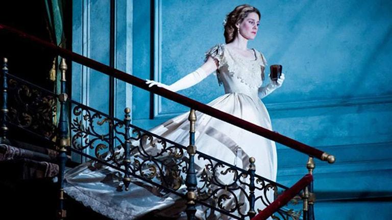 Malin Byström som Arabella. Foto: Metropolitanoperan