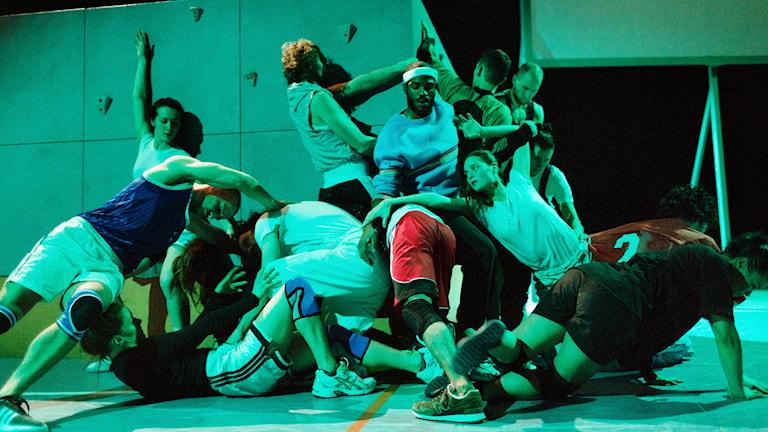 Ur dansföreställningen ON THE CUSP