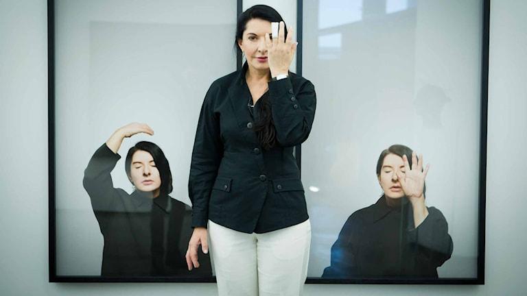 Marina Abramovic. Foto: Heiko Junge/NTB scanpix