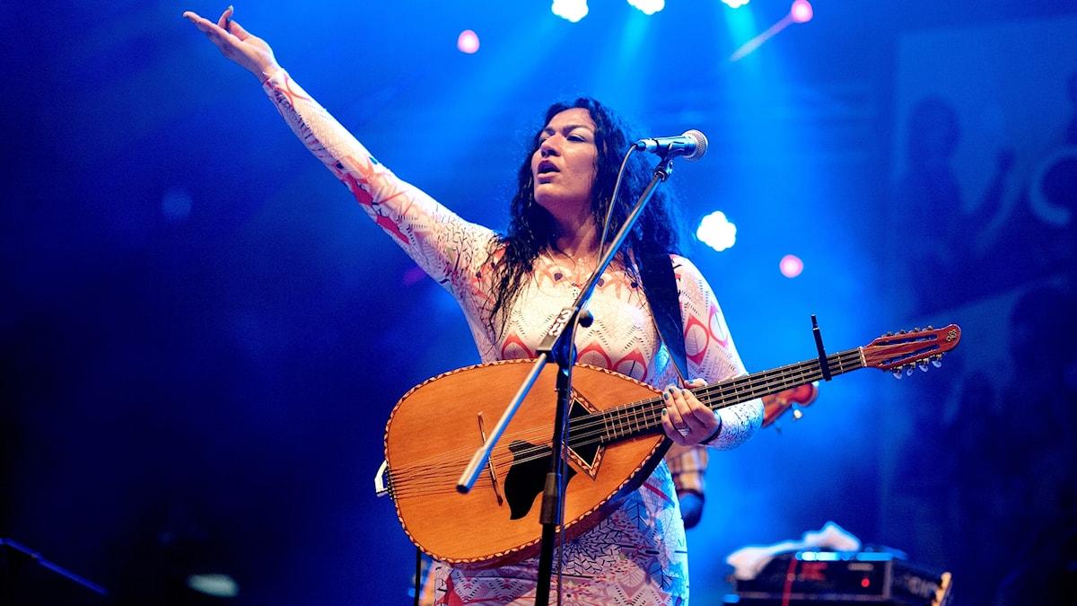 Nadin Al Khalidi.