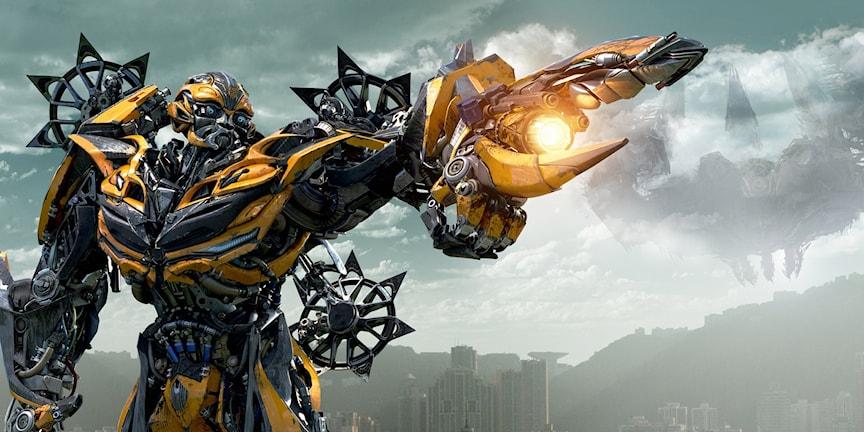 Roboten Bumblebee i Transformers. Foto: UIP