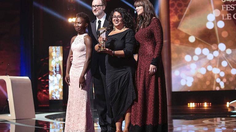 "Sudabeh Mortezais film ""Joy"" fick juryns stora pris på Marrakechs internationella filmfestival 2018."
