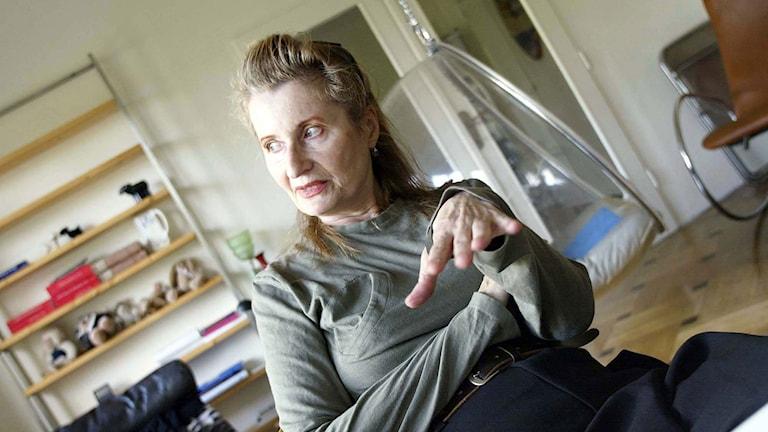 Elfriede Jelinek. Foto: Scanpix.